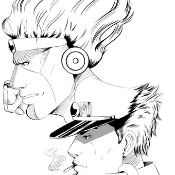 Jotaro and Star Plat by shwit