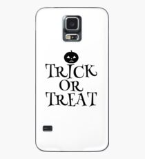 Pumpkin Trick or Treat  Case/Skin for Samsung Galaxy