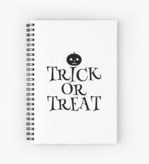 Pumpkin Trick or Treat  Spiral Notebook