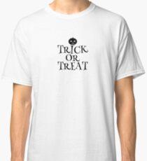Pumpkin Trick or Treat  Classic T-Shirt