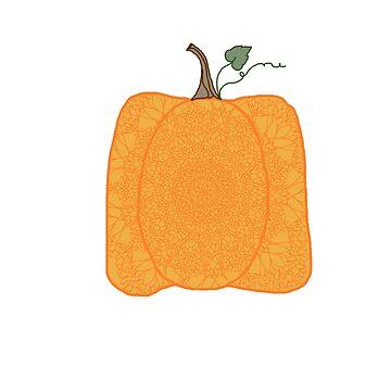 Pumpkin mandala by tmntphan