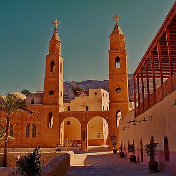 Egypt. Monastery of Saint Anthony. by vadim19