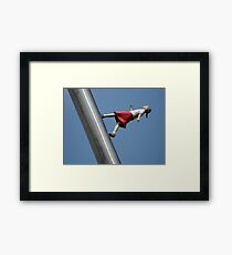 """Walking to the Sky"" at Nasher Sculpture Center Framed Print"