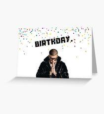 Schlechtes Häschen Geburtstag, Rappergrußkarte, Memgrußkarten Grußkarte