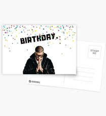 Bad Bunny. Birthday, rapper greeting card, meme greeting cards Postcards
