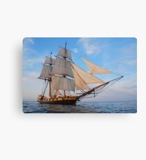 "The Brig Niagara ""Starboard Bow""  Canvas Print"