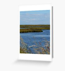 Earth, Wind, And Water Greeting Card