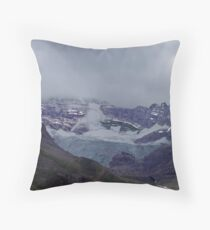 Snowpack,Maligne Lake Throw Pillow
