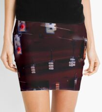 Traffic Light Darkness Mini Skirt