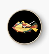 CHUNKY TUNA FISH Clock