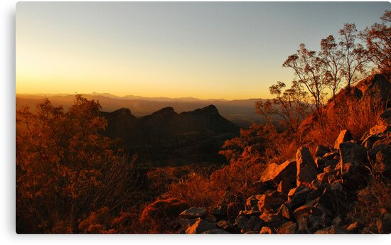 Dusk in the Southwest by Barbara Manis