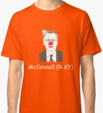 Mitch McConnell is a clown. Classic T-Shirt