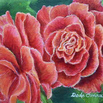 Coral Beauty by ArtbyDedeConrad