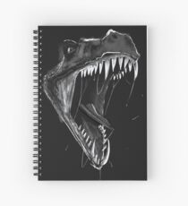 Inktober Day 6: Drooling Spiral Notebook
