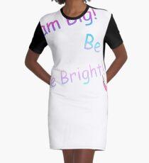JoJo Siwa Lustiger Entwurf T-Shirt Kleid
