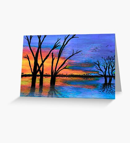 Lake Bonney No.2 Greeting Card