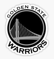 Golden State Warriors B&W Sticker