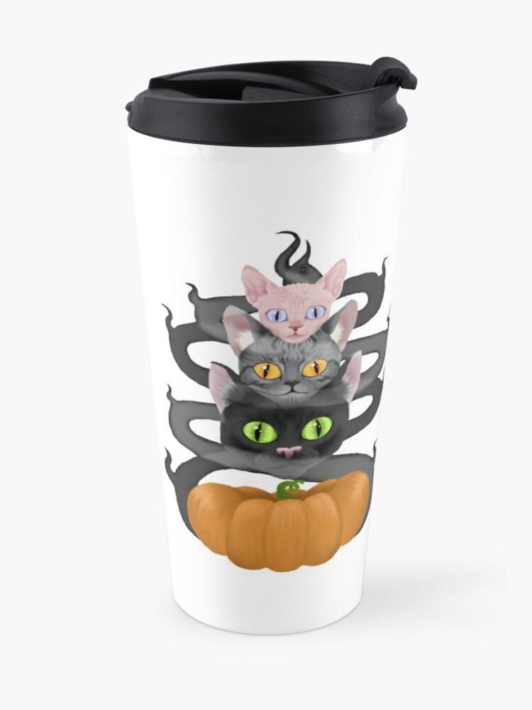 Alternate view of Witches Three Travel Mug