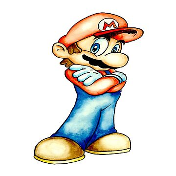 Mario Arms crossed by Dadlyfe420