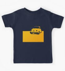 Fiat 500, 1959 - Yellow on black Kids Clothes