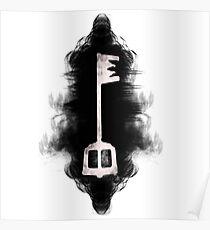 Kingdom hearts Schlüsselschwert, das Licht in der Dunkelheit Poster