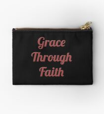 Grace Through Faith Studio Pouch
