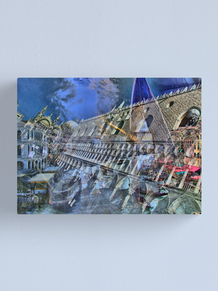 Alternate view of Impressions of Venice  Canvas Print