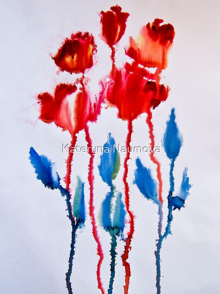 Roses by Kateryna Naumova