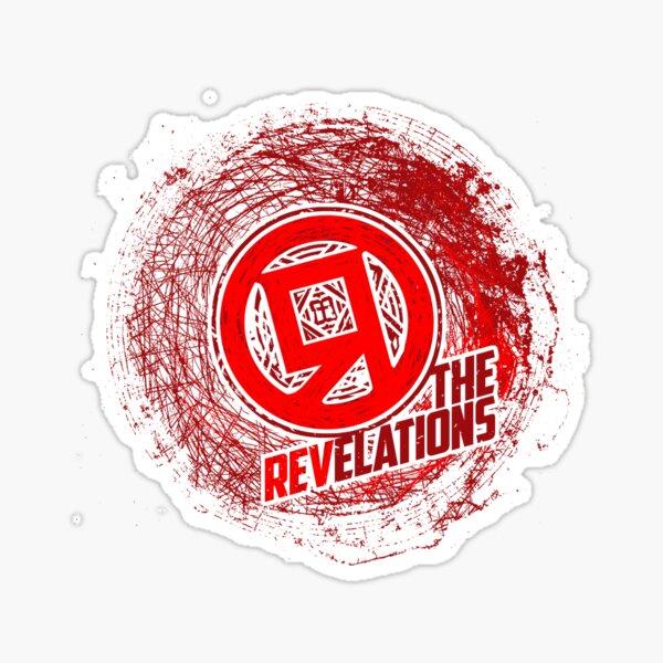 TheRedR - TheREV Logo (broken) Sticker