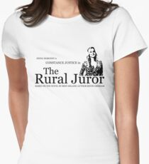 The Rural Juror Women's Fitted T-Shirt