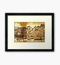 DK Framed Print