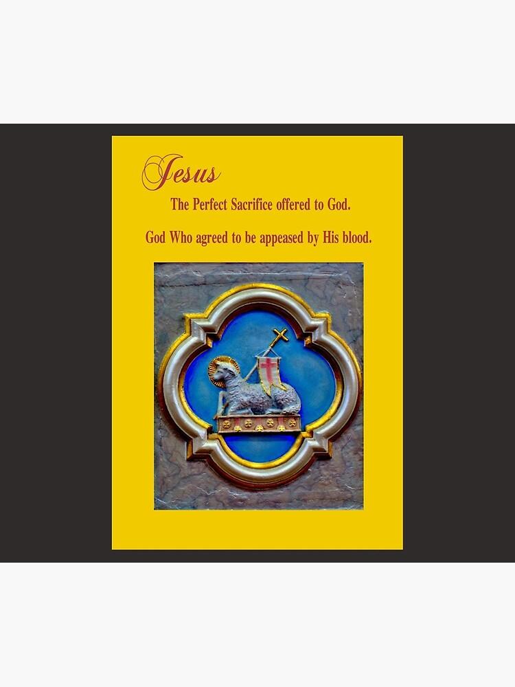 Blood of God, Lamb of God by CatholiCARDS