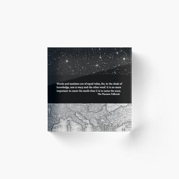 Rhyme and Reason's Wisdom Acrylic Block