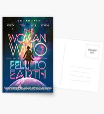 The Woman Who Fell To Earth Postcards