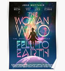 The Woman Who Fell To Earth Poster