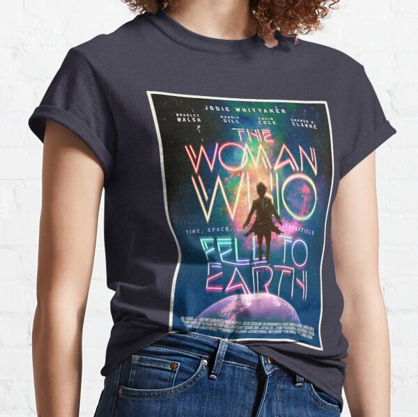 The Woman Who Fell To Earth Classic T-Shirt