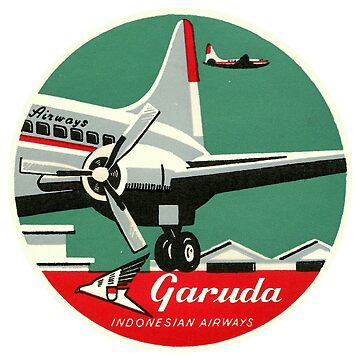 Garuda Indonesian Airways by Bloxworth