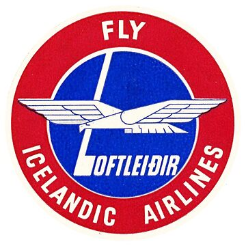 Loftleidir Icelandic Airlines by Bloxworth
