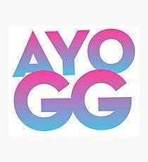 AYO GG Photographic Print