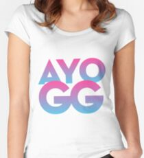 AYO GG Women's Fitted Scoop T-Shirt