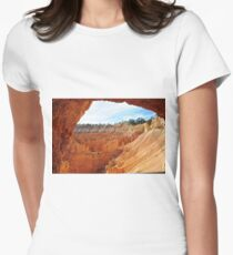 Rock Formations of Bryce Canyon, Arizona Women's Fitted T-Shirt