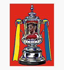 Alexis Sanchez / 2015 FA Cup Winners Photographic Print