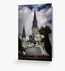 General Of New Orleans Greeting Card