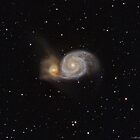 M51 - Whirlpool Galaxy by Jeff Johnson