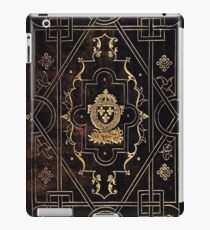 Leather and Gold iPad Case/Skin