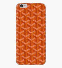 Orange Graph iPhone Case
