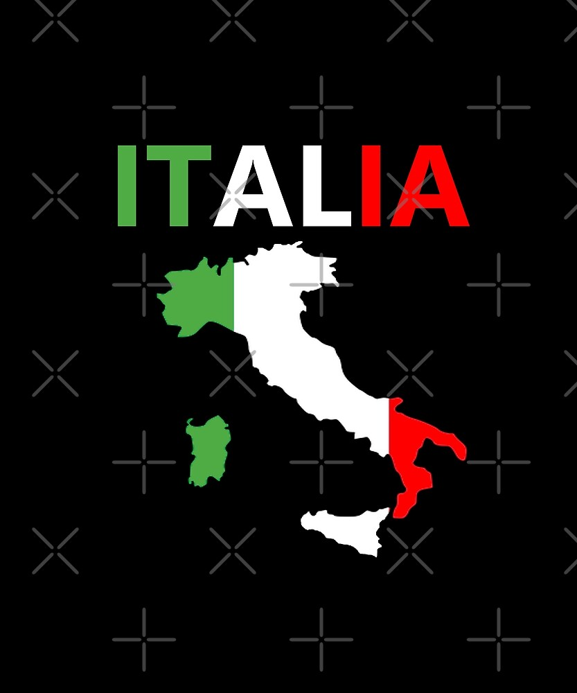 Italia Italy Country T-Shirt Tourist Souvenir Summer Family Vacation Gift by joeTakeover