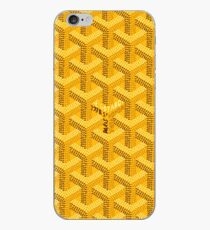 Yellow Graph iPhone Case