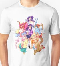 Humanized MLP Transparent Unisex T-Shirt