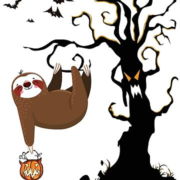 Sloth Funny Halloween Graphic by mousung